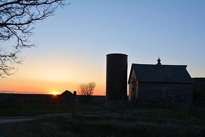 Photograph - Sun-up On The Farm by Bonfire Photography