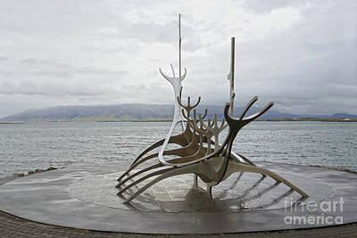 Photograph - Sun Voyager, Reykjavik, Iceland by Catherine Sherman