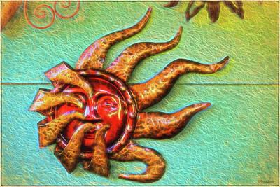 Photograph - Sun Wall Decoration 2 by Anna Louise