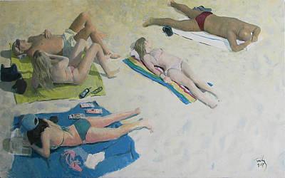 Painting - Sun Worship by Thomas Tribby
