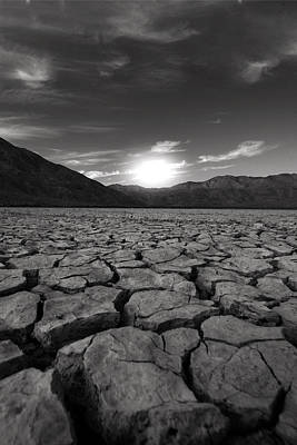 Dry Lake Photograph - Sun You Crack Me Up by Peter Tellone