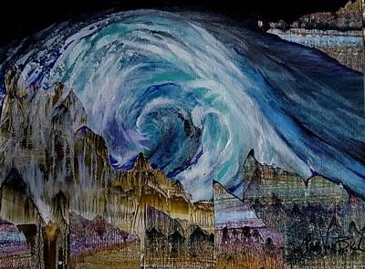 Painting - Sunami  by Jan VonBokel