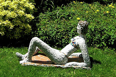 Sculpture - Sunbather by Katia Weyher