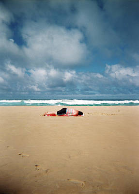 Photograph - Sunbather by Nik West