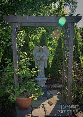 Photograph - Sunbeam Angel by Janice Rae Pariza