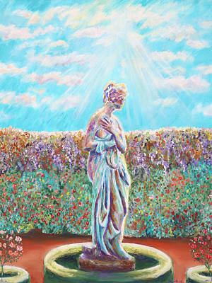 Painting - Sunbeam by Elizabeth Lock