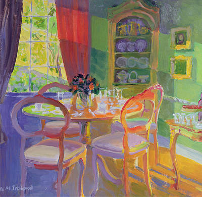 Interior Still Life Painting - Sunbeam I by William Ireland