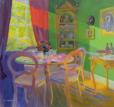 Interior Still Life Painting - Sunbeam II by William Ireland