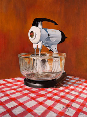 Sunbeam Mixer 1958 Original by Karl Melton