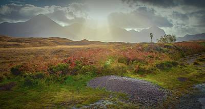 Photograph - Sunbeams #g9 by Leif Sohlman