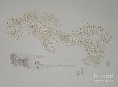 Oneness Painting - Sunbirds by Angus Hampel