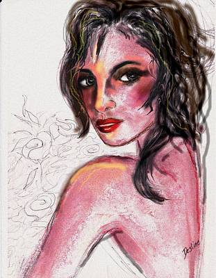 Mixed Media - Sunburn by Desline Vitto
