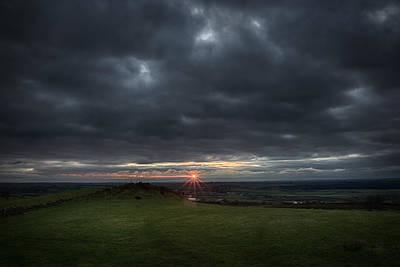 Photograph - Sunburst by Alex Leonard