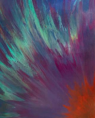 Sunburst Aura Art Print