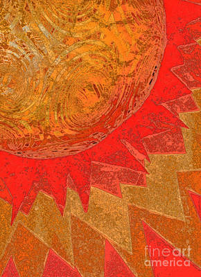 Mixed Media - Sunburst By Jammer  And Jrr by First Star Art