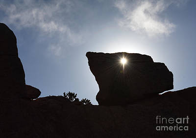 Photograph - Sunburst, Garden Of The Gods by Charles Owens