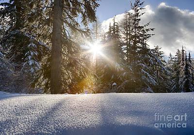 Photograph - Sunburst by Idaho Scenic Images Linda Lantzy