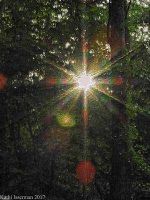 Photograph - Sunburst by Kathi Isserman