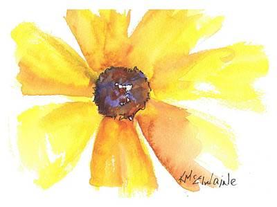 Painting - Sunburst by Kathleen McElwaine