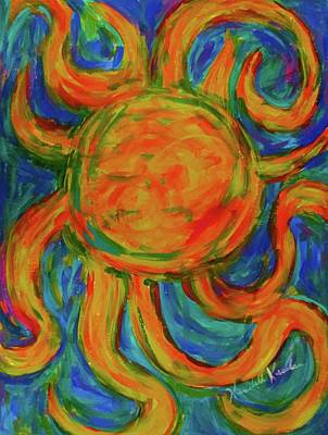 Painting - Sunburst by Kendall Kessler