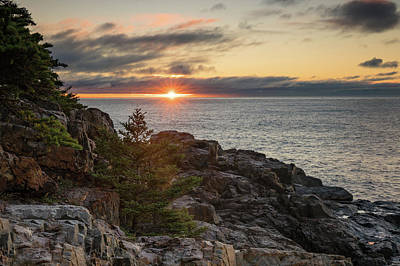 Photograph - Sunburst On Great Head by Darylann Leonard Photography