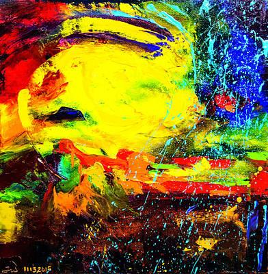 Painting - Sunburst by Ward
