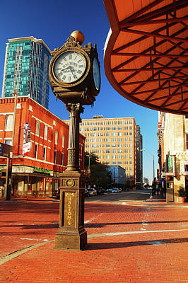 Photograph - Sundace Square, Ft Worth by James Kirkikis