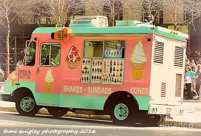 Photograph - Sundae In New York by Tami Quigley