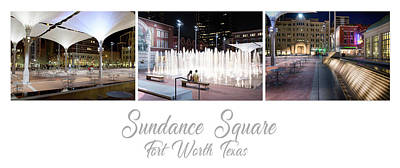 Photograph - Sundance Fort Worth Poster 101117 by Rospotte Photography
