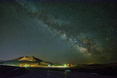 Photograph - Sundance Milky Way by Fiskr Larsen
