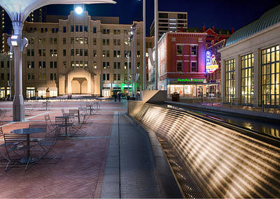 Photograph - Sundance Square 01715 by Rospotte Photography
