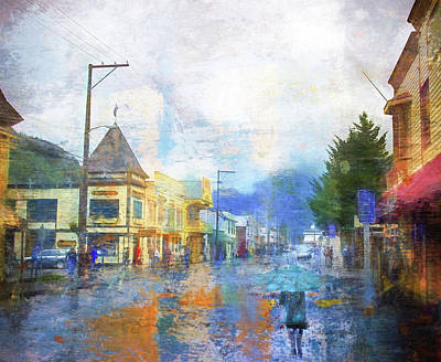 Photograph - Skagway Street by Marilyn Wilson