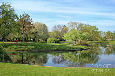 Photograph - Sunday Afternoon At Franklin Park by Karen Adams