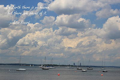 Photograph - Sunday Afternoon At The Bay by Dora Sofia Caputo Photographic Design and Fine Art