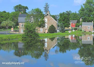 Photograph - Sunday Afternoon At The Grist Mill by Tami Quigley