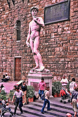 Photograph - Sunday Afternoon In Florence 2 by Allen Beatty