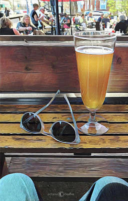 Photograph - Sunday Afternoon Patio by Tim Nyberg