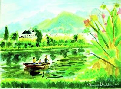 Painting - Sunday Afternoon by Wanvisa Klawklean