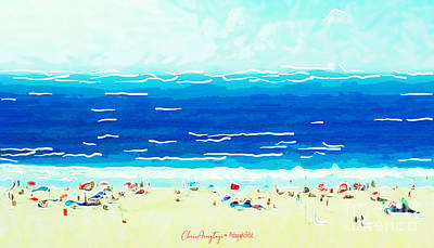Painting - Sunday At Bondi by Chris Armytage