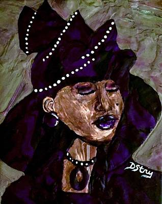 Mixed Media - Sunday Best by Deborah Stanley
