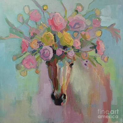 Dun Horse Painting - Sunday Best by Kimberly Santini