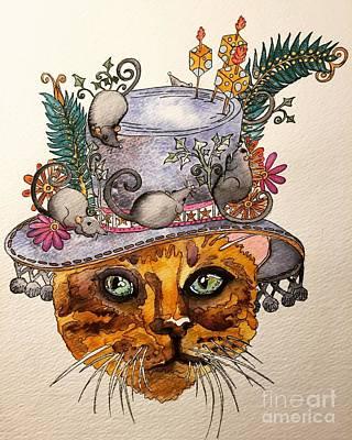 Painting - Sunday Best by Victoria Heryet