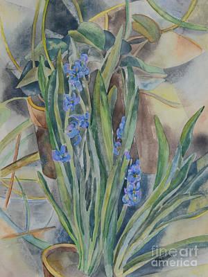 Painting - Sunday Bloom by Olga Hamilton