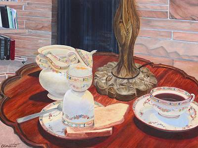 Painting - Sunday Breakfast by Barbara Barber