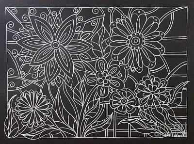 Flower Child Line Drawing : Flower child drawings page of fine art america