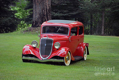 Photograph - Sunday Drive In An Antique Ford by Catherine Sherman