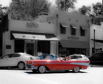 Sunday Drive Photograph - Sunday Drive by Mary Chris Hines