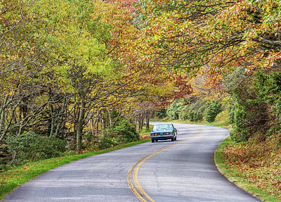Photograph - Sunday Drive On The Blue Ridge Parkway by Donnie Whitaker