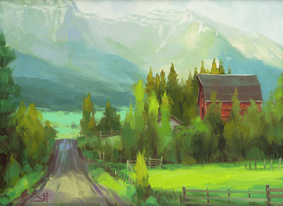 Moody Trees - Sunday Drive by Steve Henderson