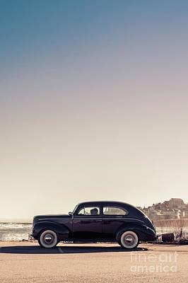 Coastal Maine Photograph - Sunday Drive To The Beach by Edward Fielding